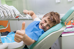 Pediatric Dentistry Scarborough ON - Child at the dentist